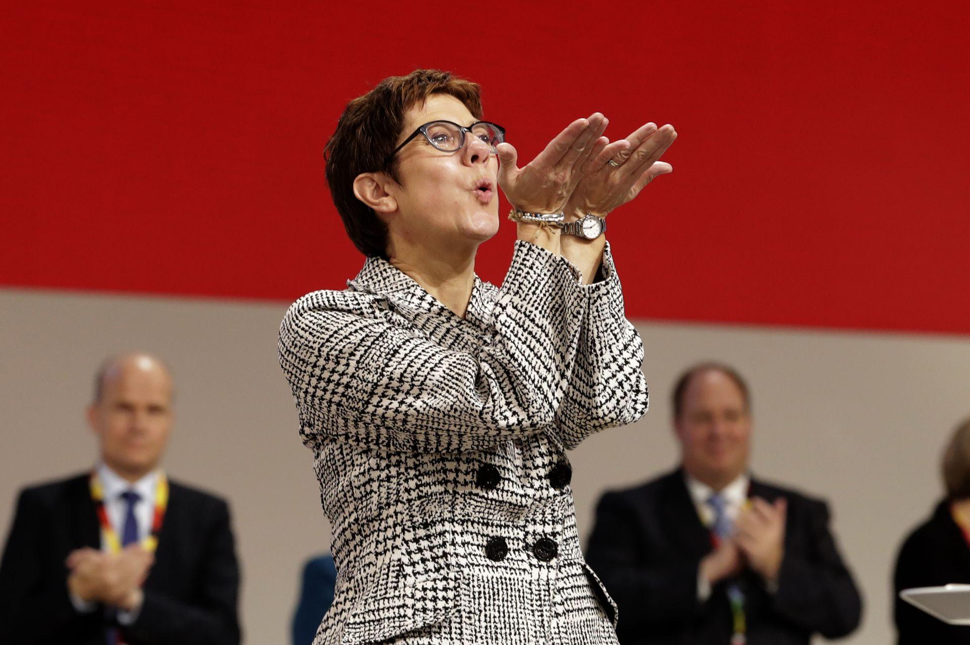 Новият лидер на ХДС благодари на съпартийците си