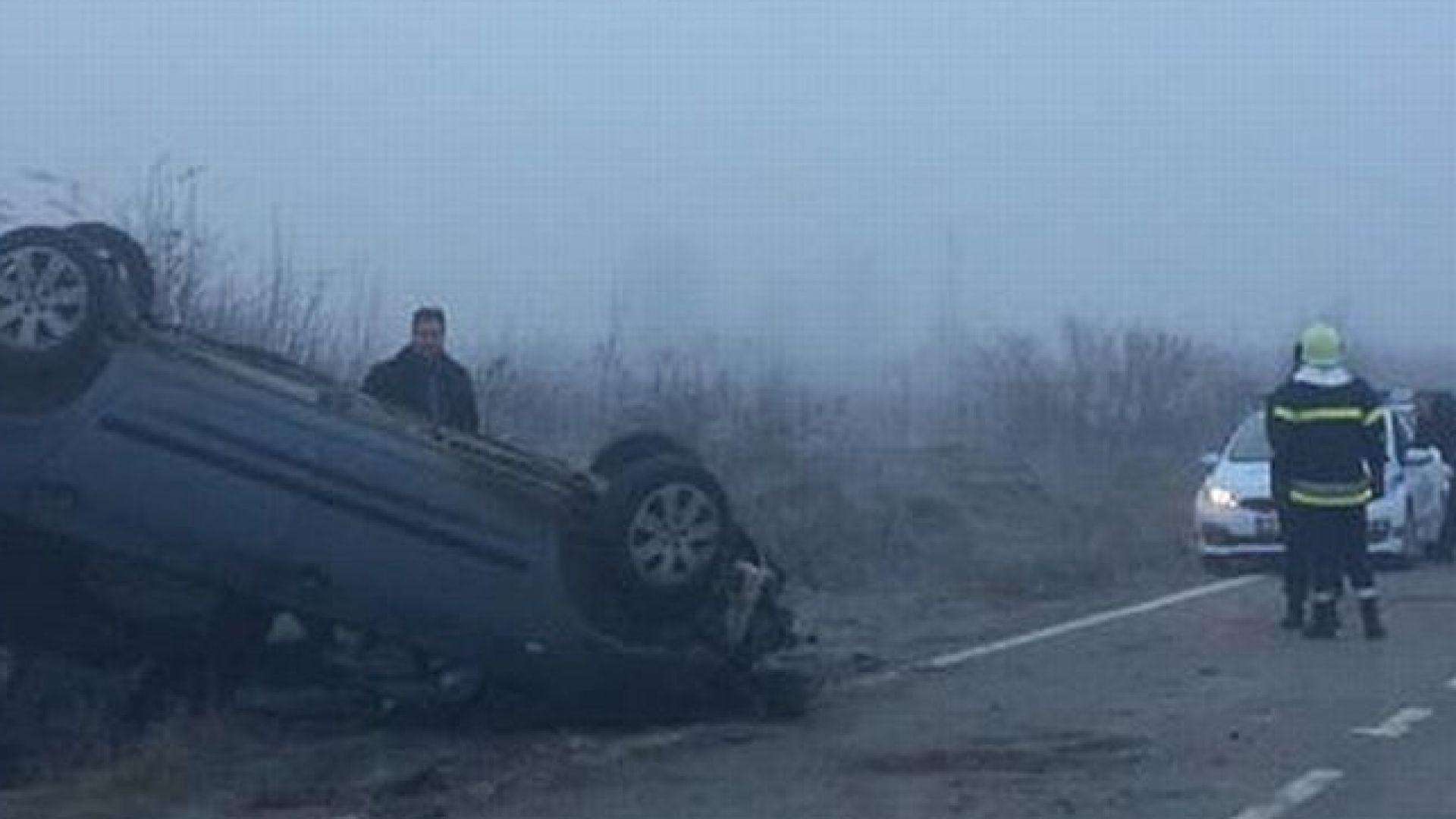 Свещеник катастрофира край Враца, съпругата му загина