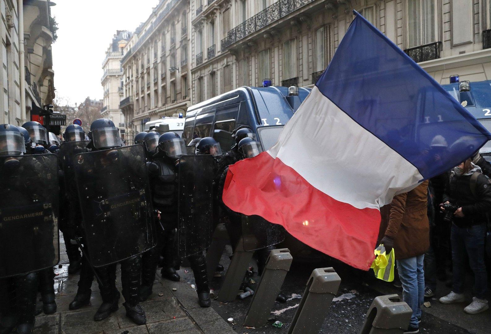 Сблъсъци в Париж