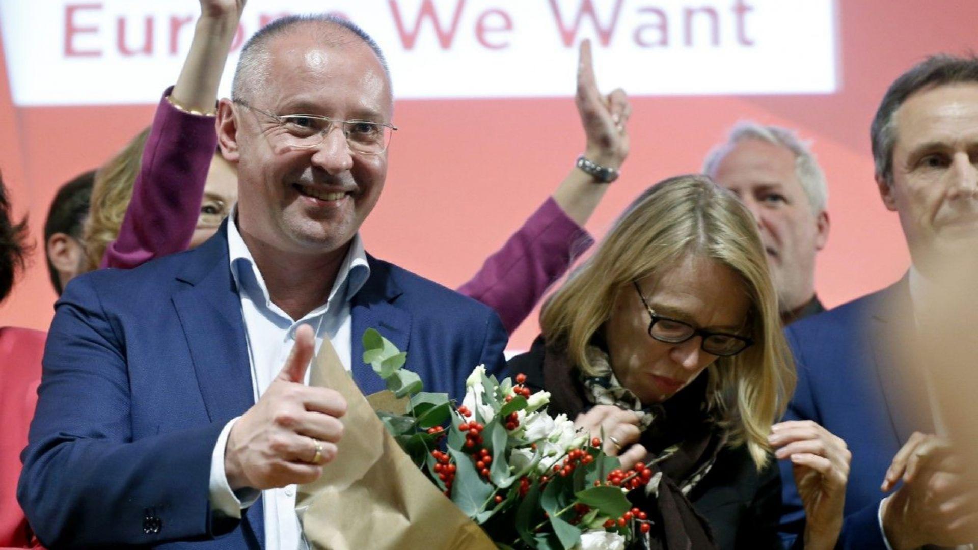 Лявоцентристки алианс ще работи за социална Европа, заяви Станишев