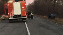 Нова трагедия на пътя: Младеж загина, трима са ранени край Златица