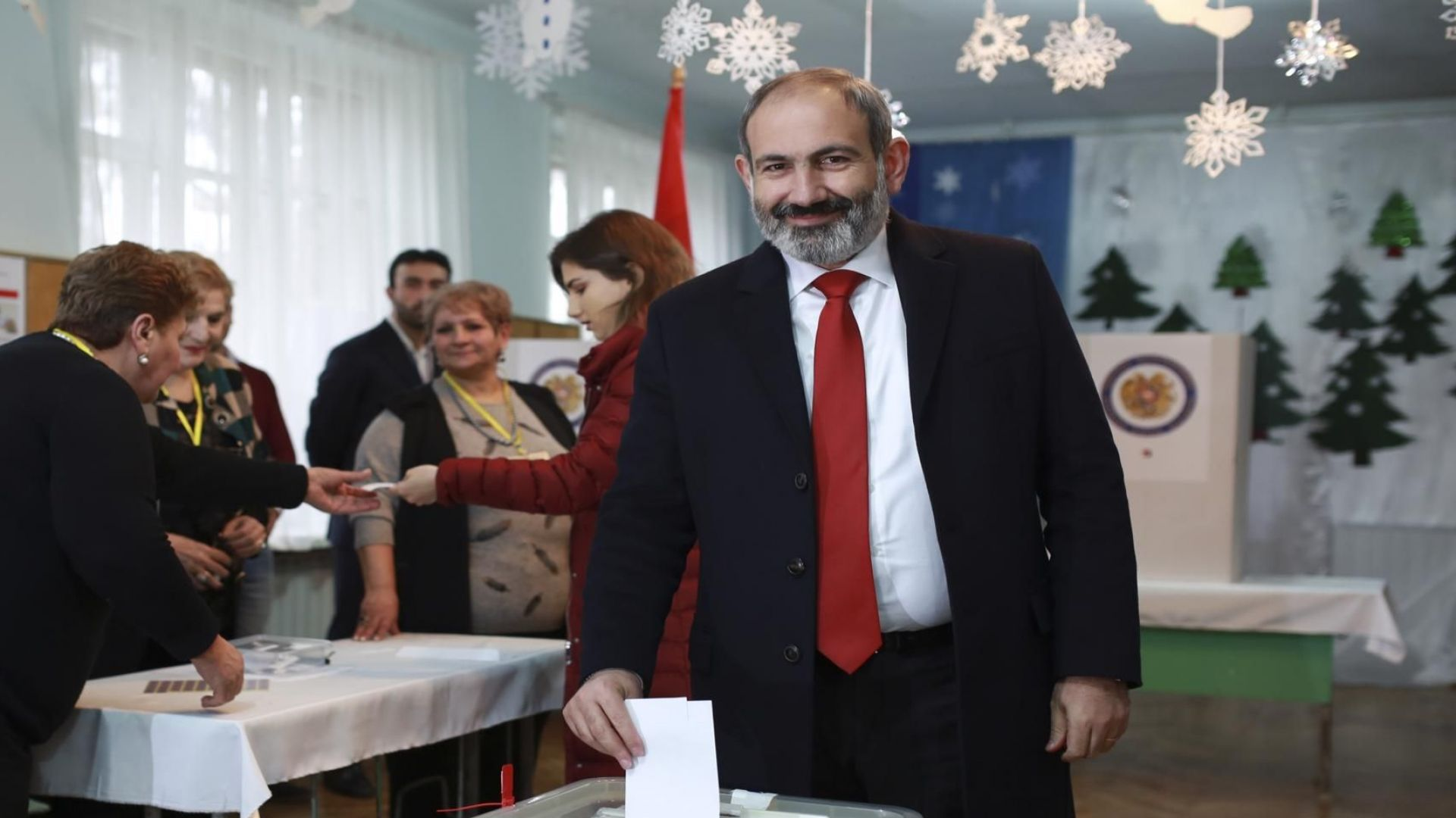 Голяма победа за Пашинян на изборите в Армения