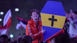 Празненствата в Буенос Айрес се разминаха с няколко арестувани и ... ковчег на Бока