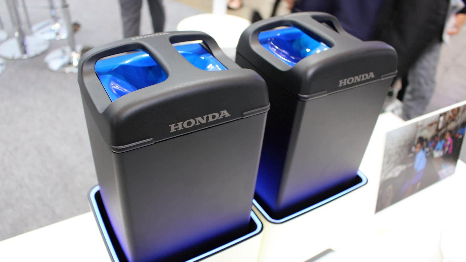 Honda представи нов тип батерии