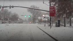"""""""Мамутска"""" снежна буря блокира източните щати на САЩ (видео)"""