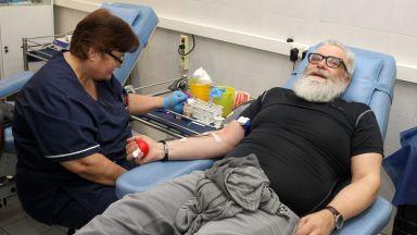 Актьори и мотористи обявиха подкрепата си за безвъзмездното кръводаряване
