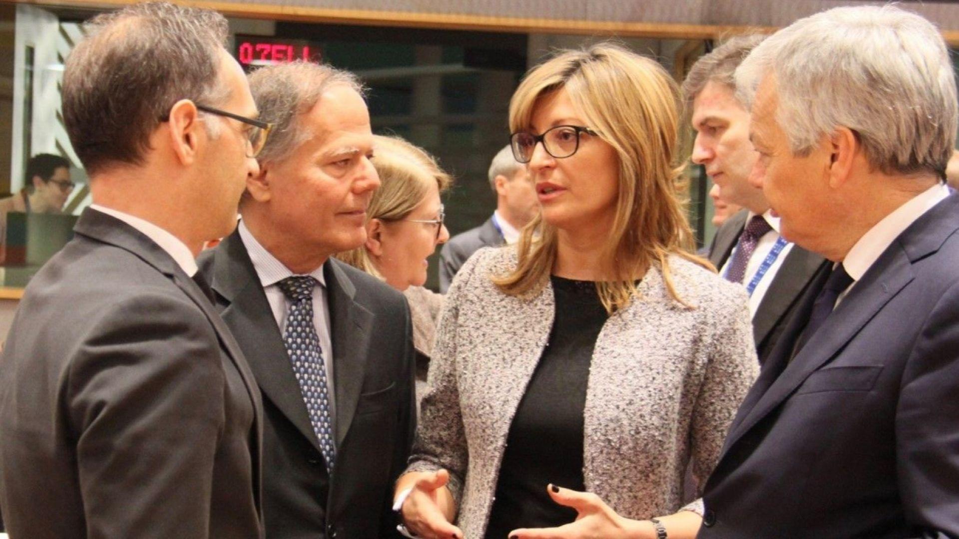 Захариева: Българският интерес предполага Македония в ЕС, но да спазва ангажимента си за добросъседство