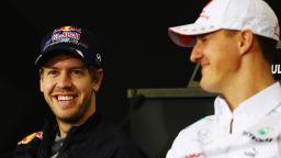 Фетел: Исках да видя Шумахер, но не ме пуснаха