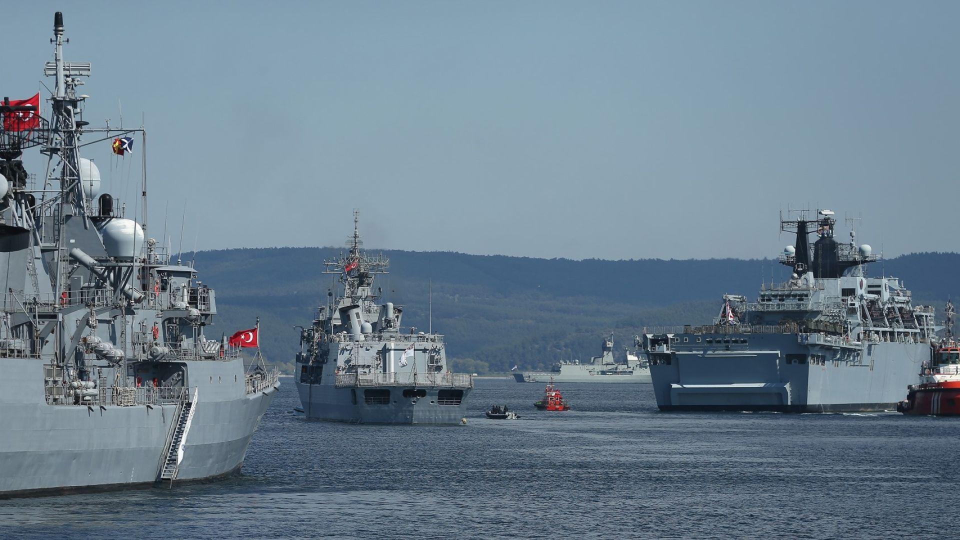 Турция започна строителството на нова военноморска база на брега на