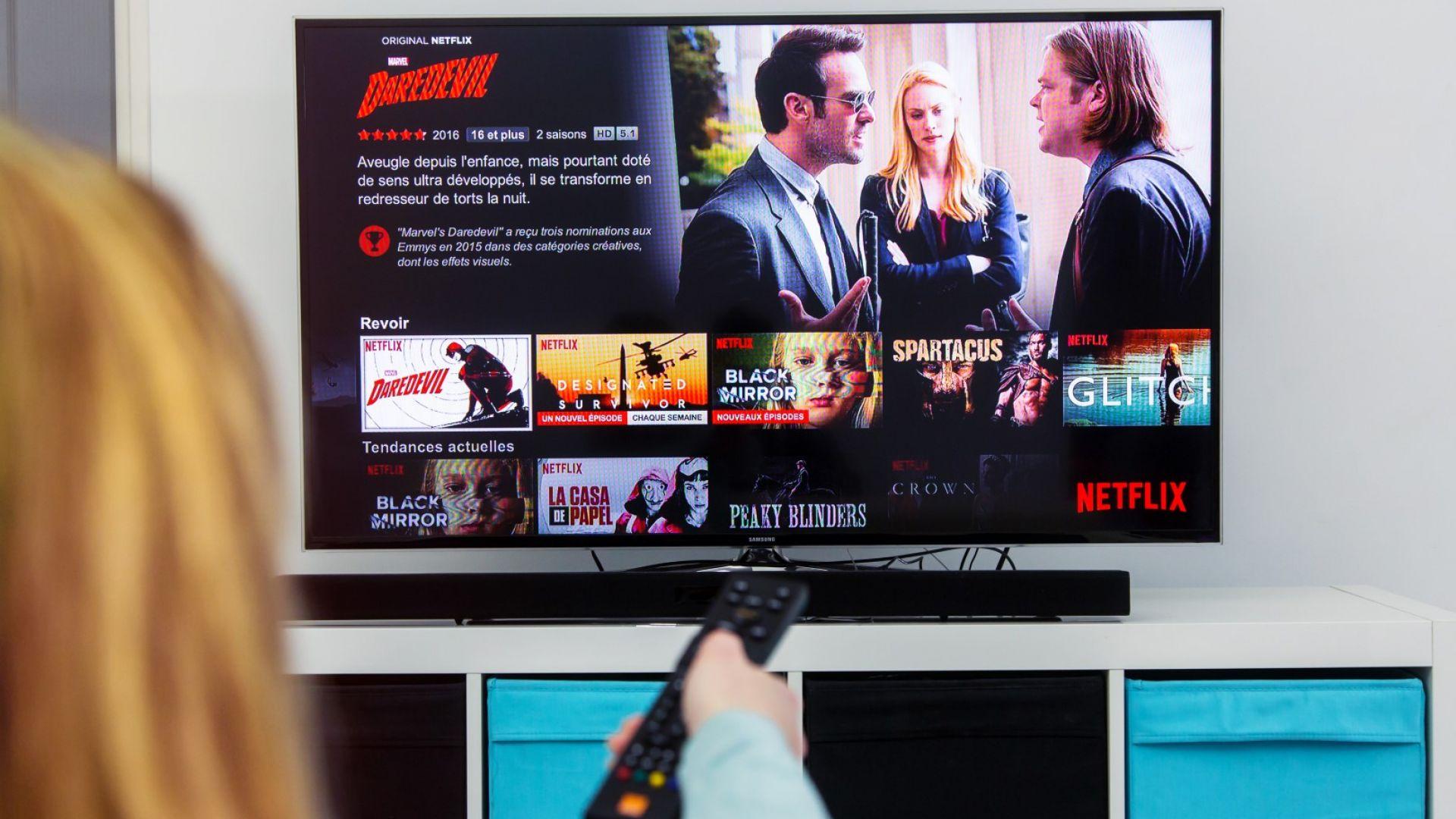 Netflix позволява доста богат избор и е винаги на разположение