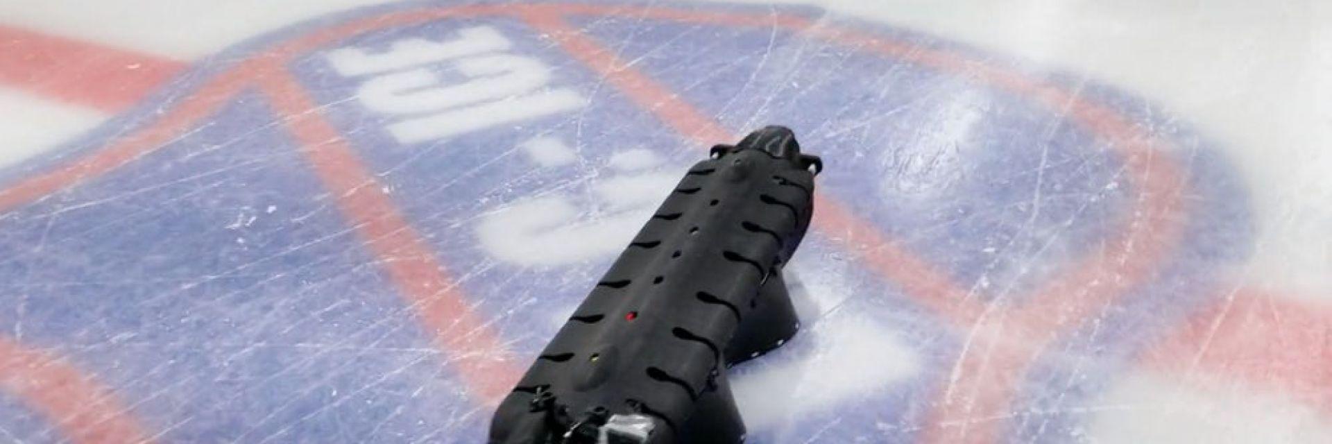 Уникален робот-амфибия плува и ходи по лед