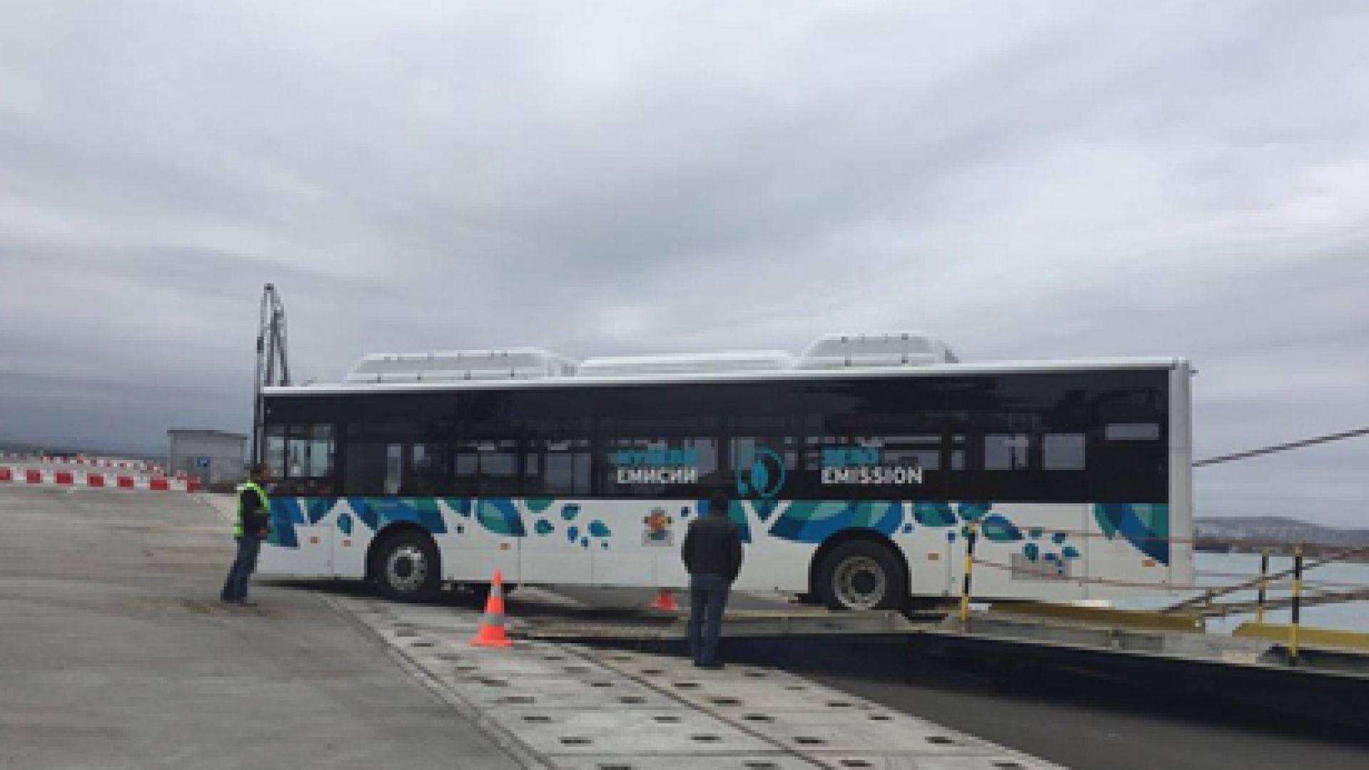 Тръгват 20 автобуса на ток в София