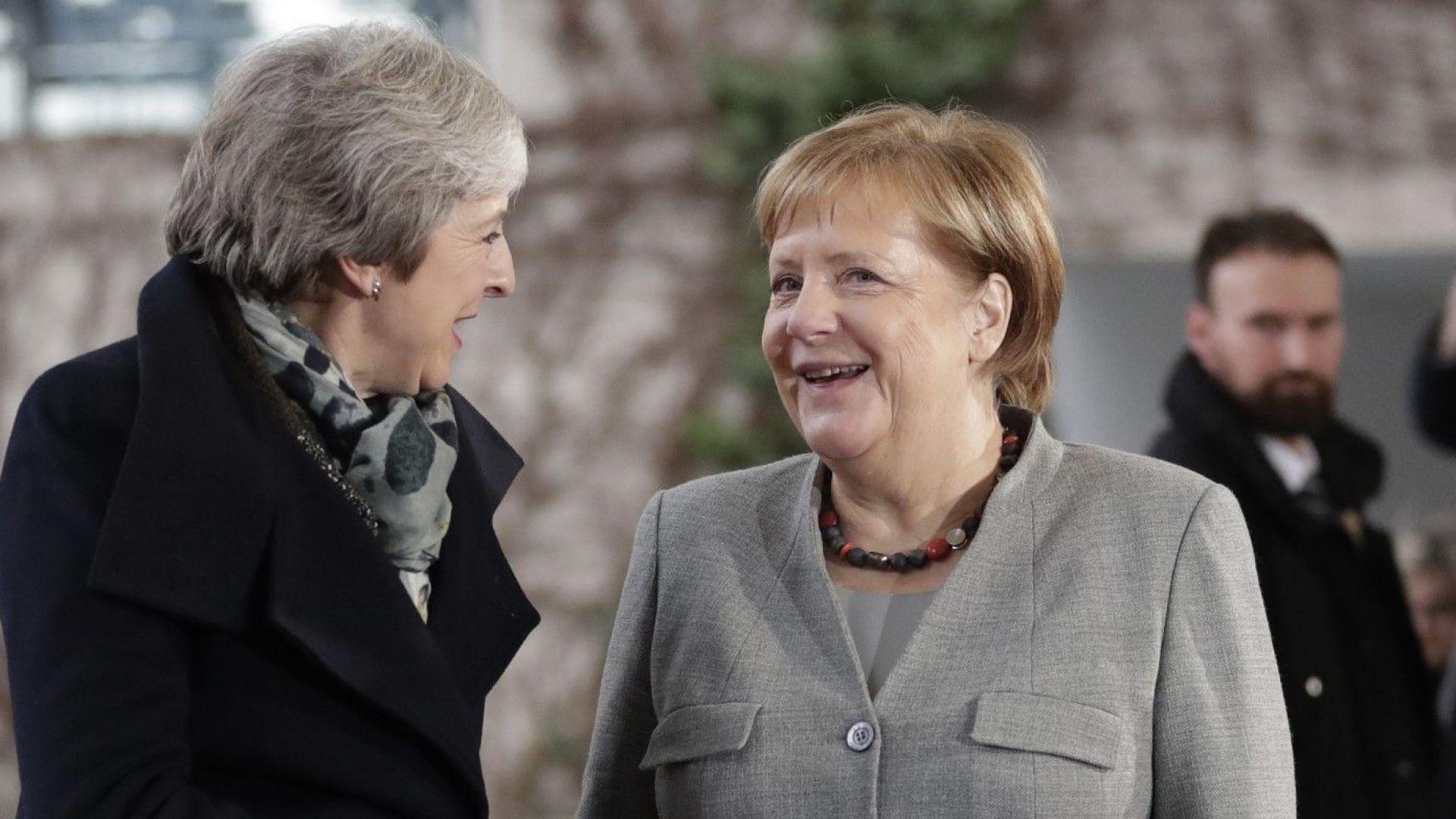 Меркел: Няма възможности за промяна на споразумението за Брекзит