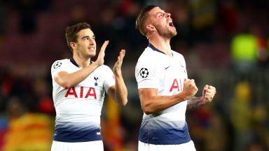 Тотнъм прояви героизъм в Барселона, Интер плаче (резултати)