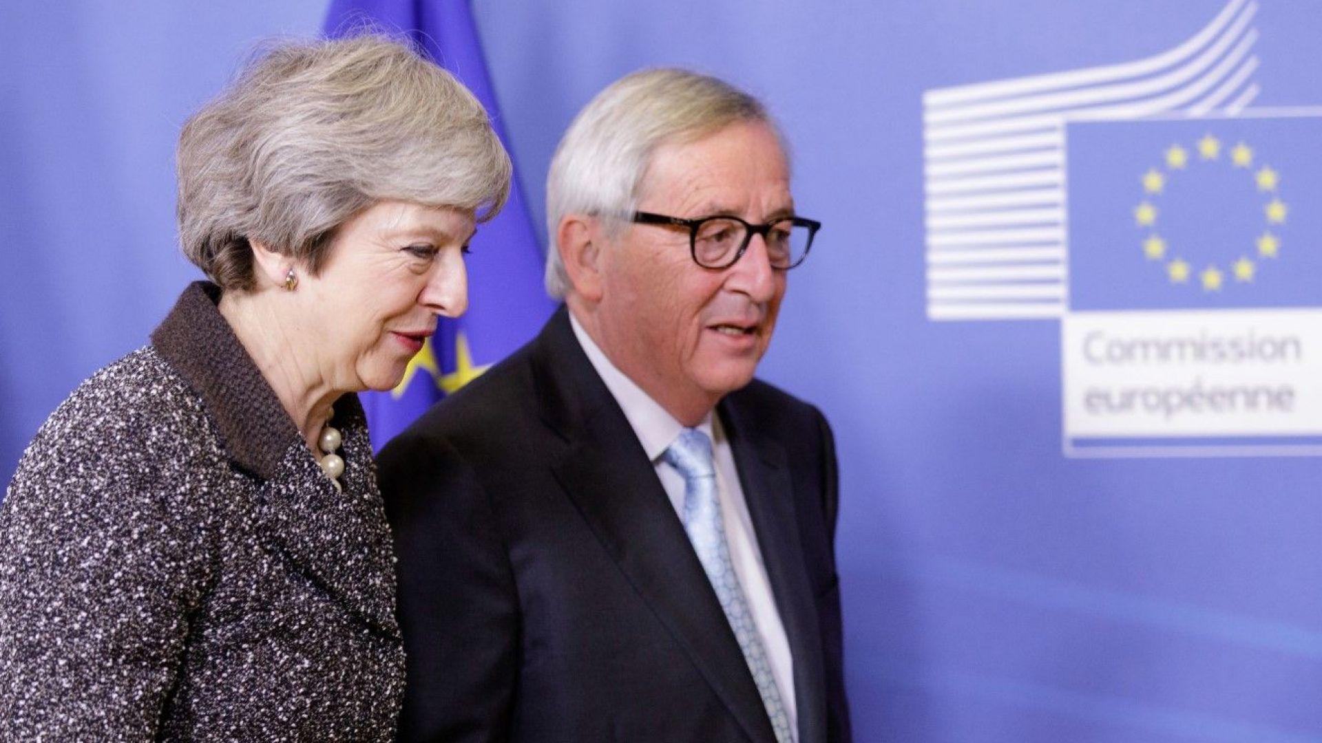 Туск и Юнкер изпратиха писмо на Тереза Мей с допълнителни уверения за Брекзит