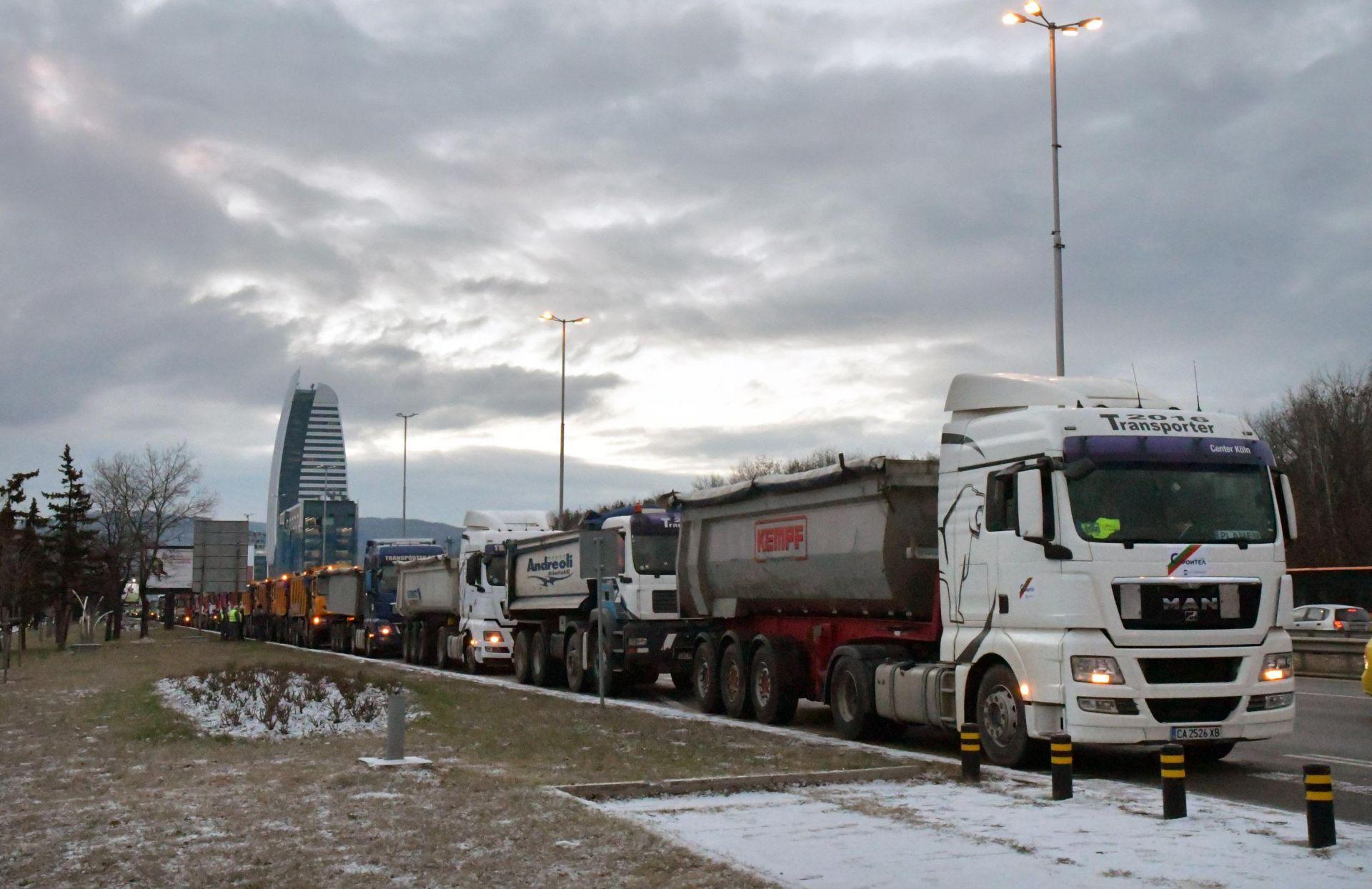 """Днес машините ще бъдат на """"Цариградско шосе"""" от 7 ч. сутринта до 12 ч. на обед"""