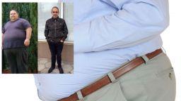 Благоевградчанин свали 140 кг за 2 години (снимки)