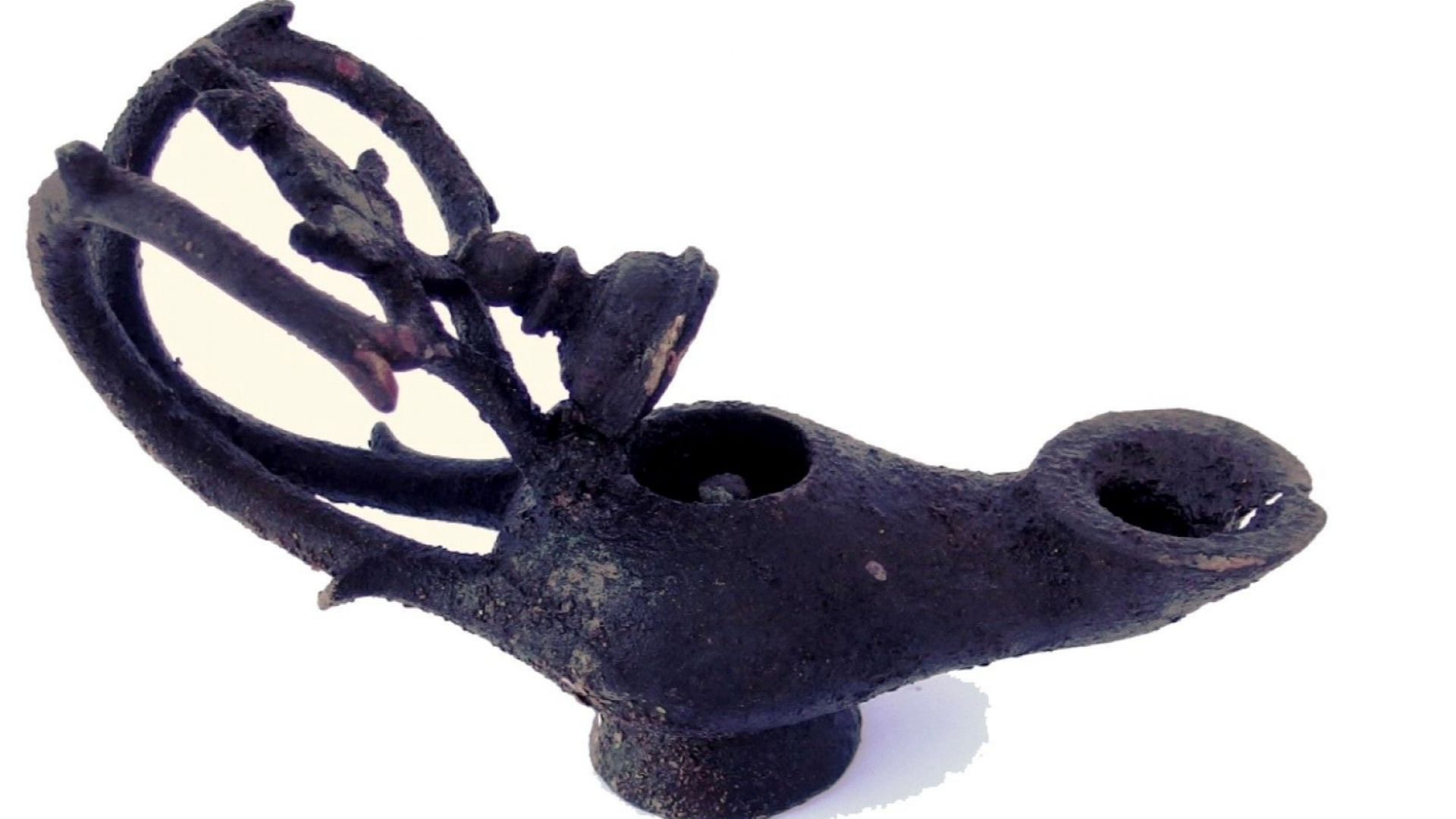 Хрисосотира - бронзова лампа