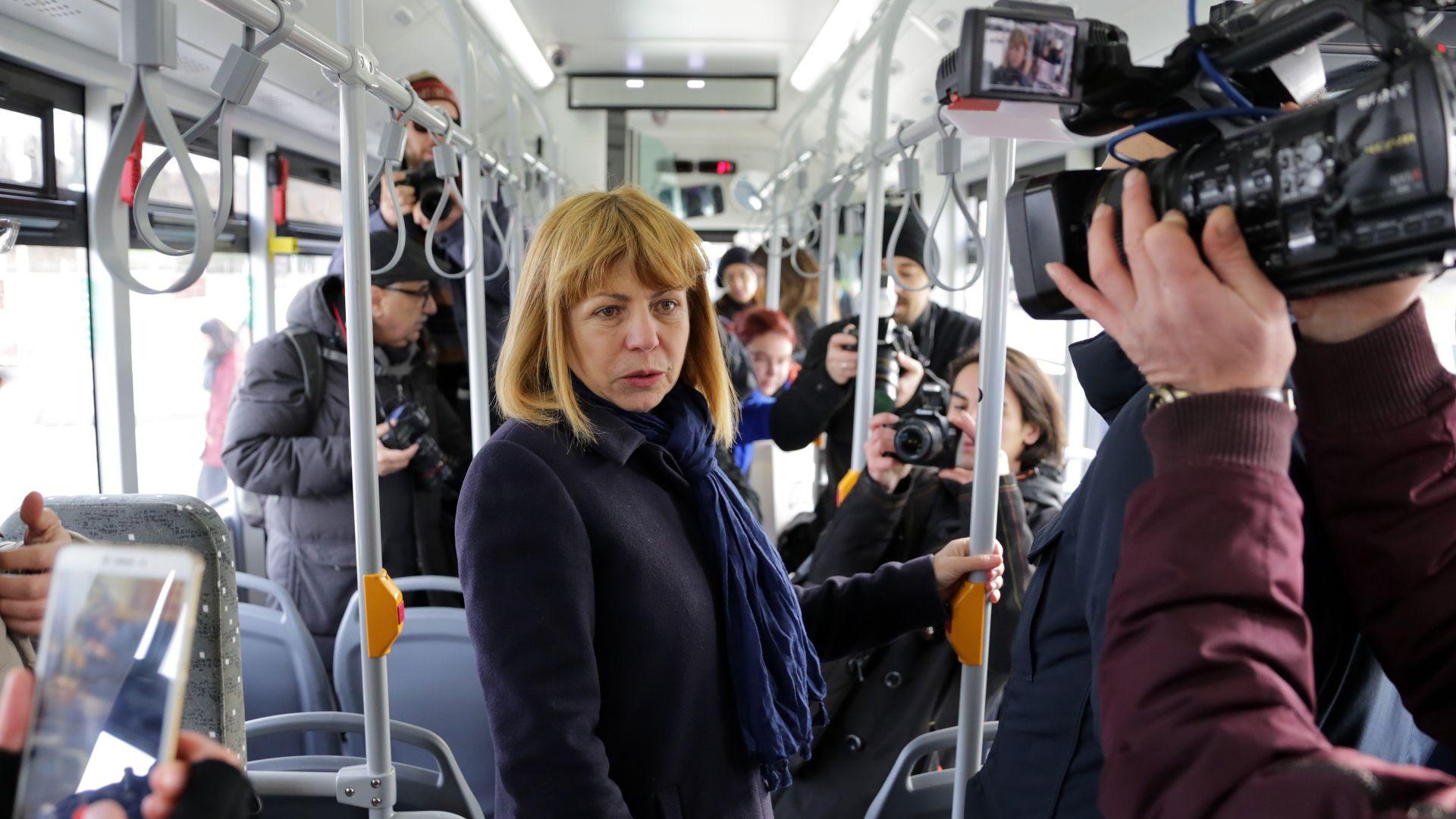 Заплатите на шофьорите и ватманите от градския транспорт да се