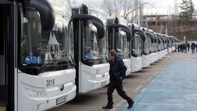 Електрически автобуси вече возят пътници в София (снимки)