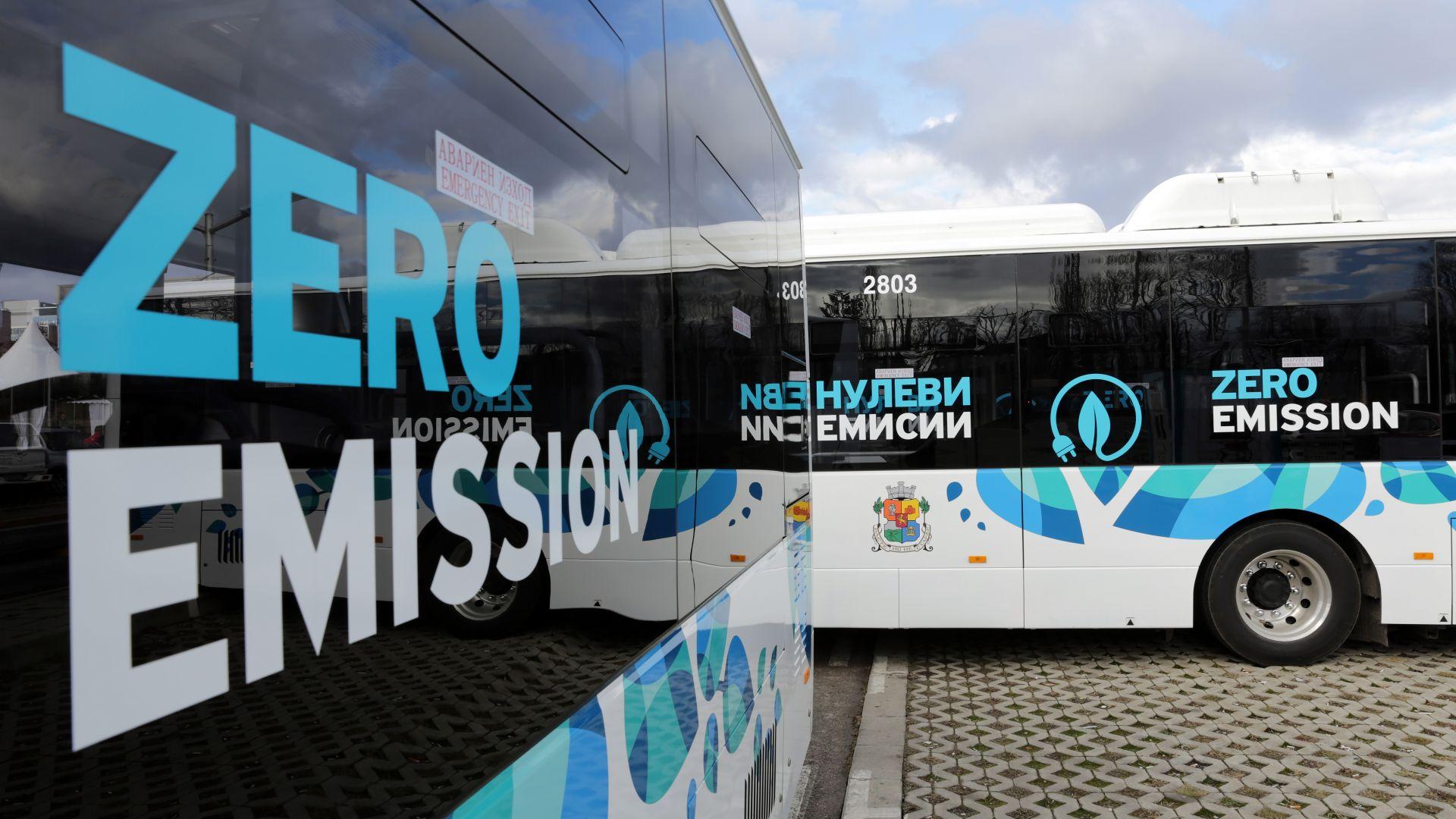 Бургас купува 56 електробуса за 68 млн. лева