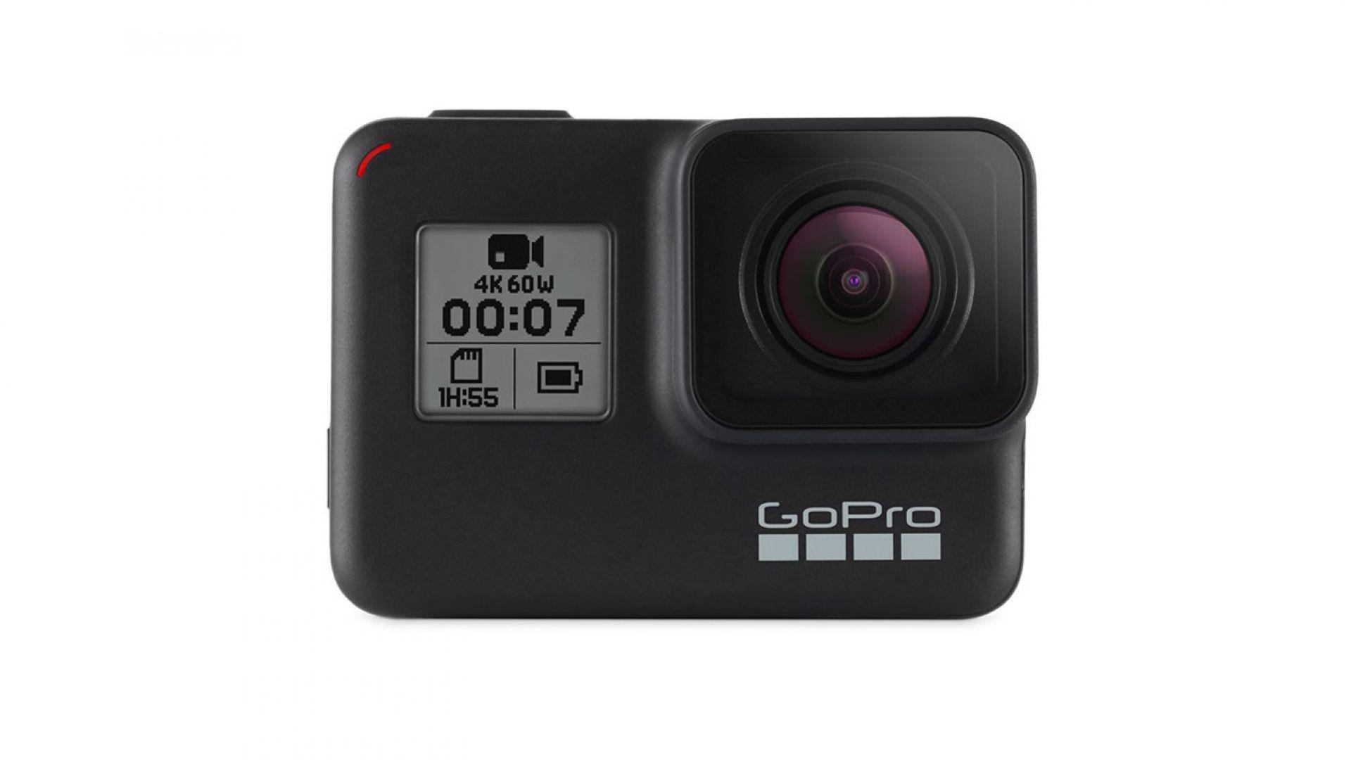 Екшън камерата GoPro HERO 7 BLACK