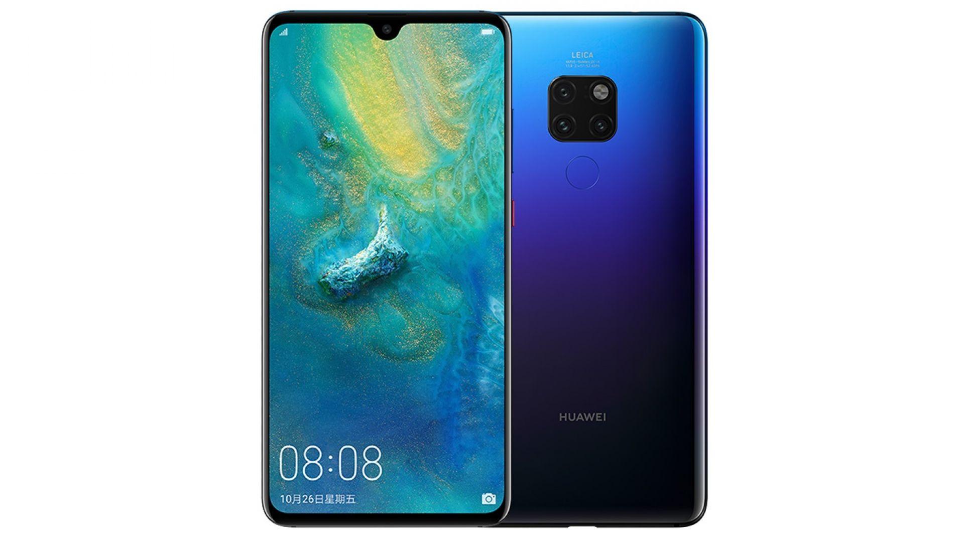 Смартфонът Huawei MATE 20