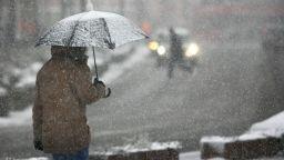 Сняг и дъждове през почивните дни