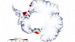 НАСА показа как се топят ледниците на Антарктида (видео)