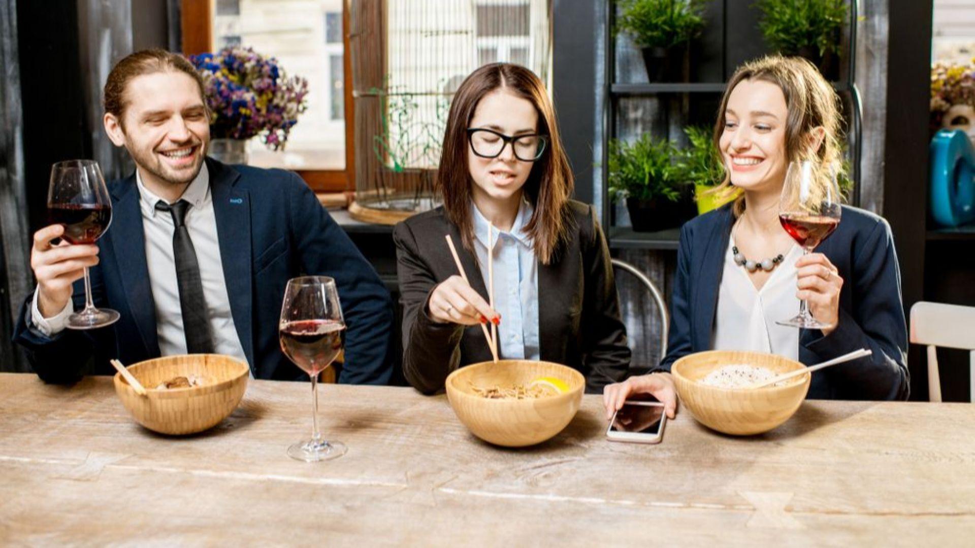 Определиха идеалния тип ресторант за бизнес срещи