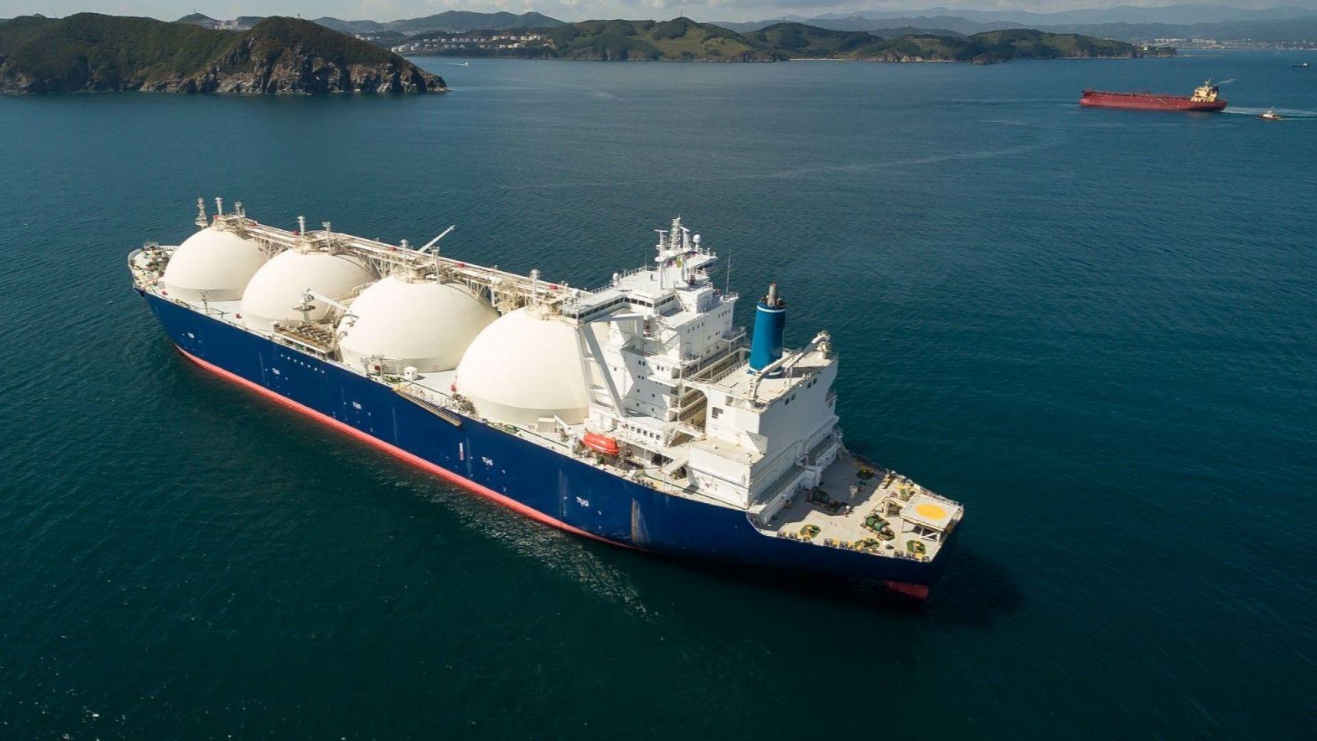 Пристигна първата доставка на американски газ за България