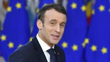 Макрон в Брюксел:  Европа никога няма да е по-важна от исканията на френския народ