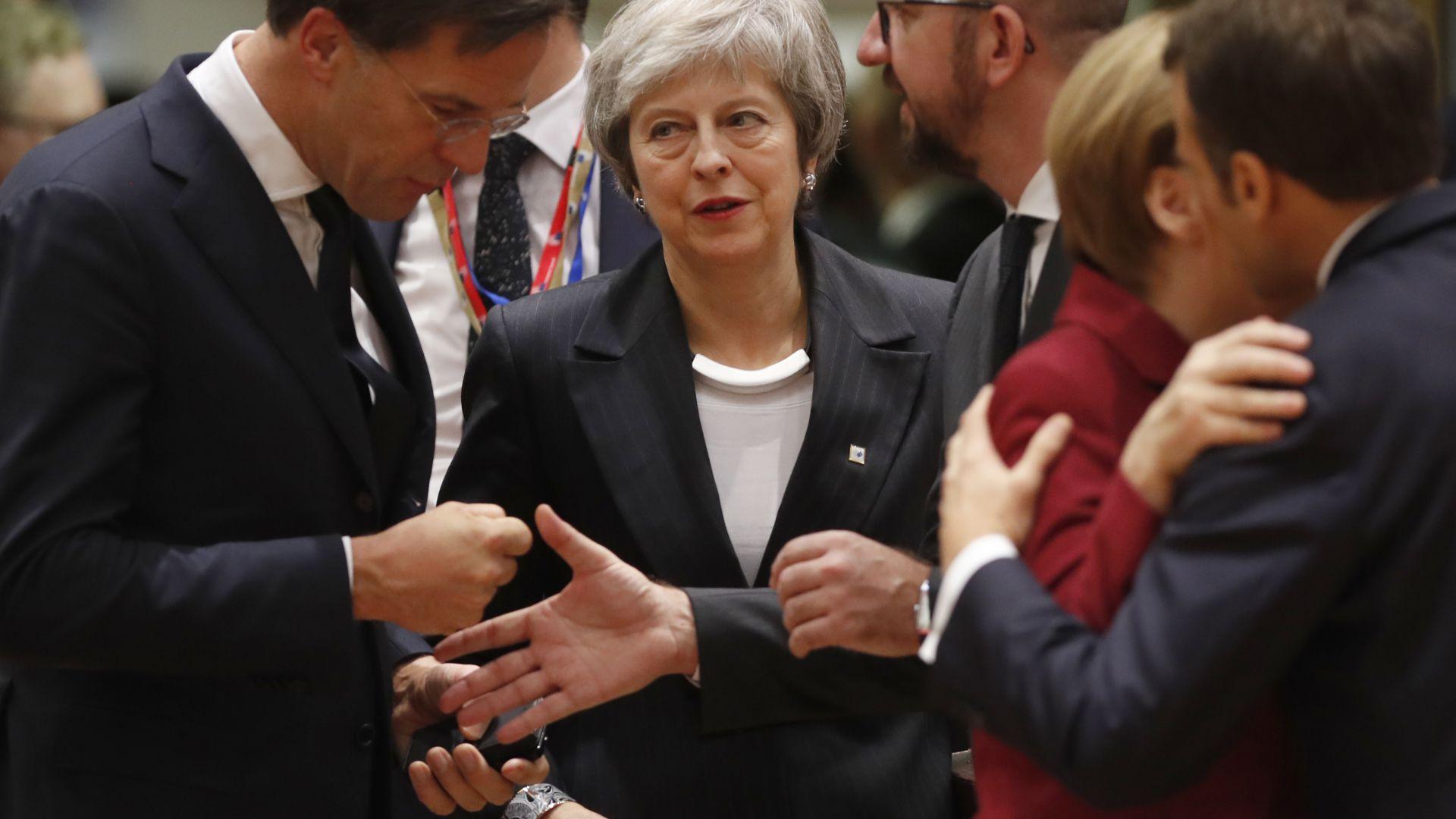 Тереза Мей пристигна в Брюксел, иска допълнителни гаранции за Брекзит