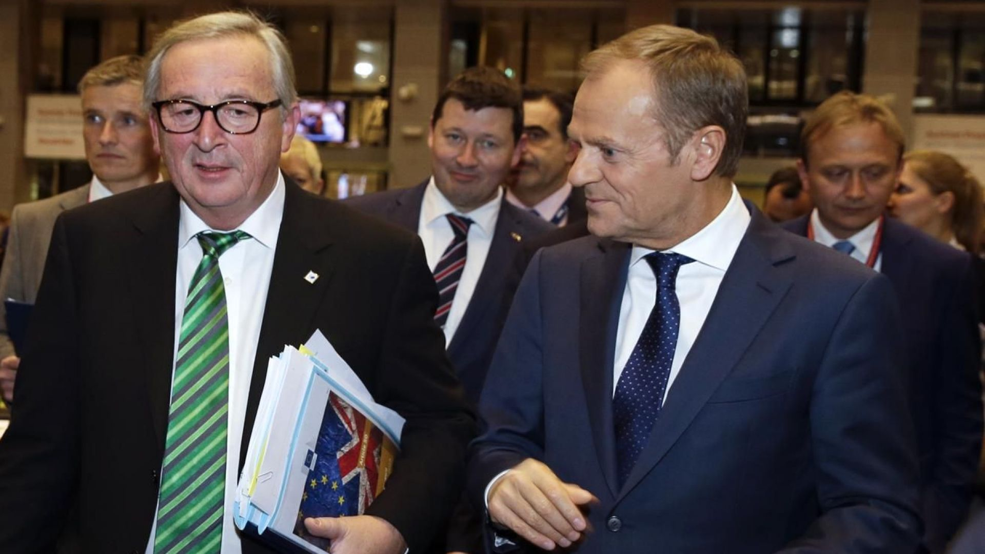Европейският съвет реши тази нощ, че постигнатото споразумение за оттеглянето