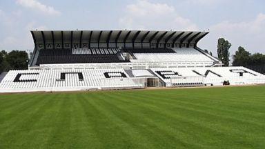 """И стадион """"Славия"""" се сдоби с осветление"""