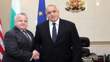 Борисов към Джон Съливан: Даваме 2% от БВП за отбрана през 2024 г.