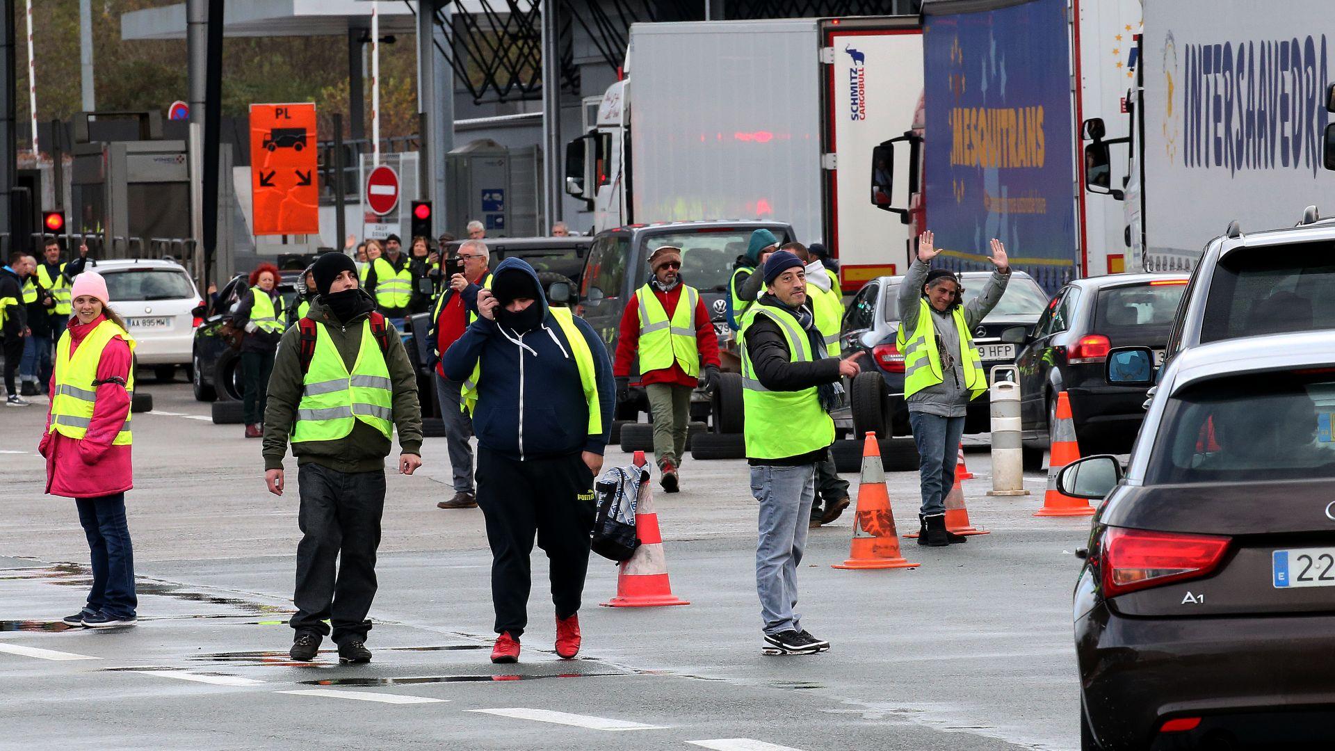 Водач в Белгия е загинал заради блокада на път във