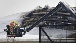 Пожар избухна в голям британски зоопарк (видео)