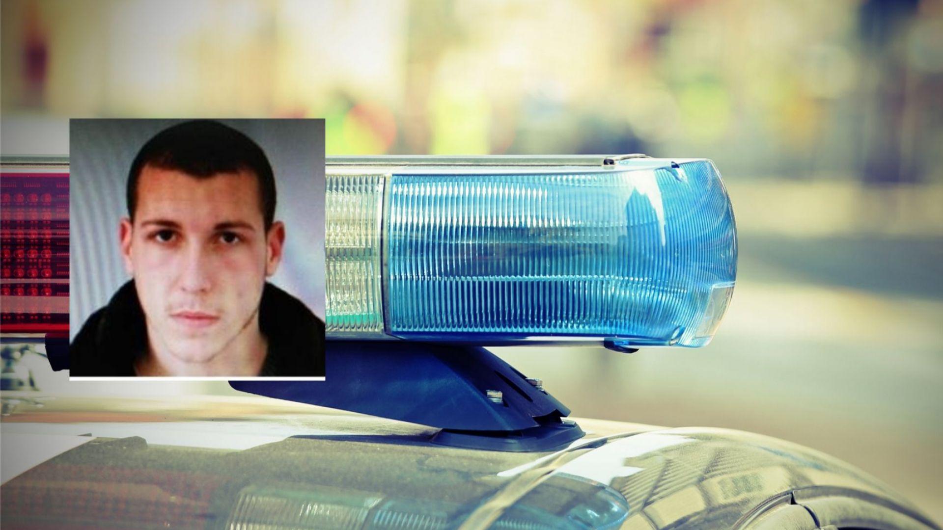 МВР издирва шофьор,  блъснал и ранил тежко полицай