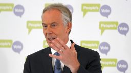 Остър спор между Тони Блеър и Тереза Мей за Брекзит