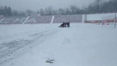 Отлагат ЦСКА - Ботев заради снега?