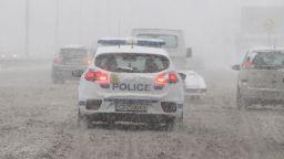 Не е възможно при обилен снеговалеж магистрала да е на асфалт, заявиха от АПИ