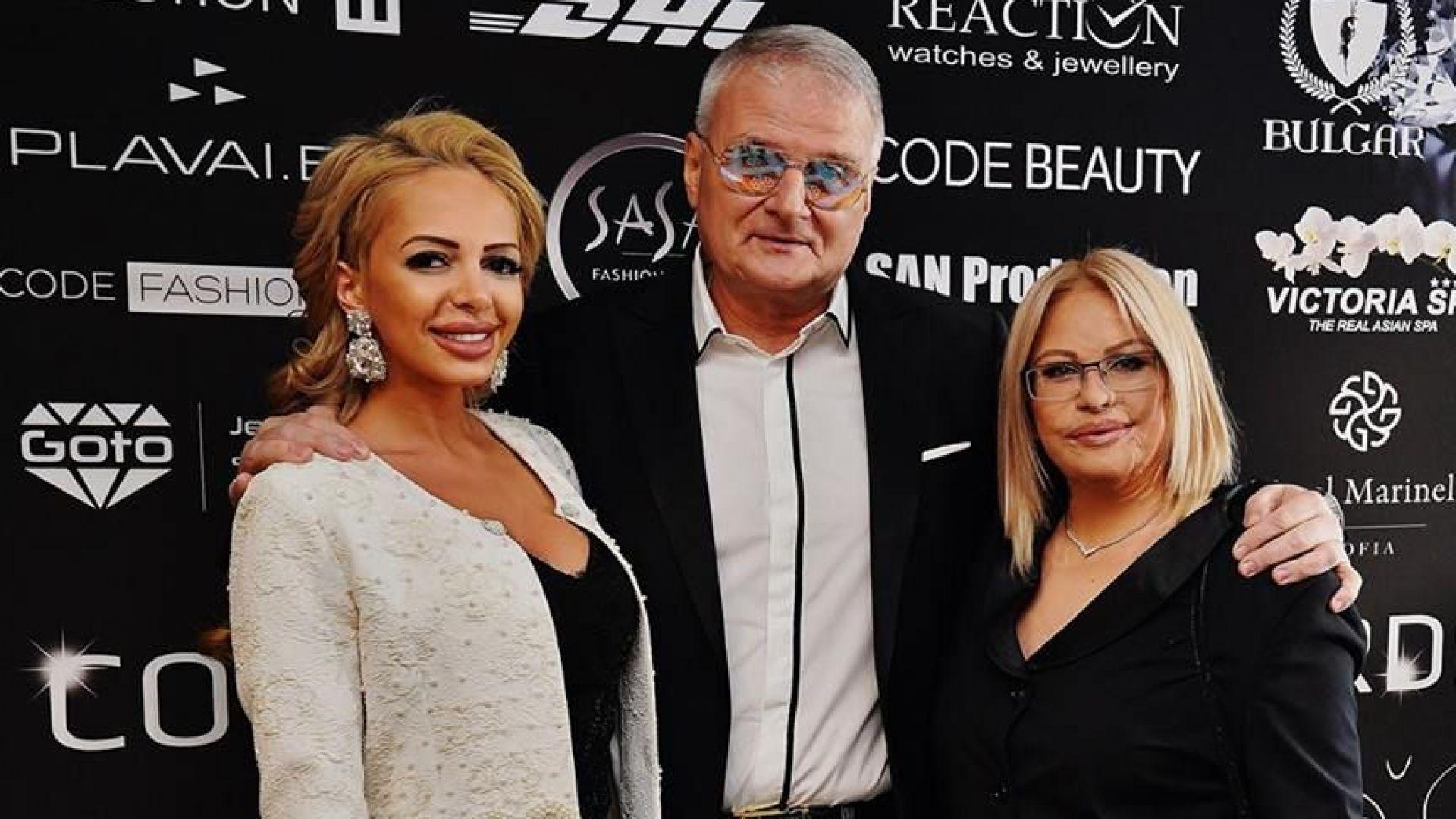 """Христо Сираков се оженил за """"Мис Плеймейт"""" във Валенсия"""