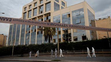 """Групировката """"Група на народните бойци"""" вероятно е заложила бомбата пред гръцката телевизия Скай"""