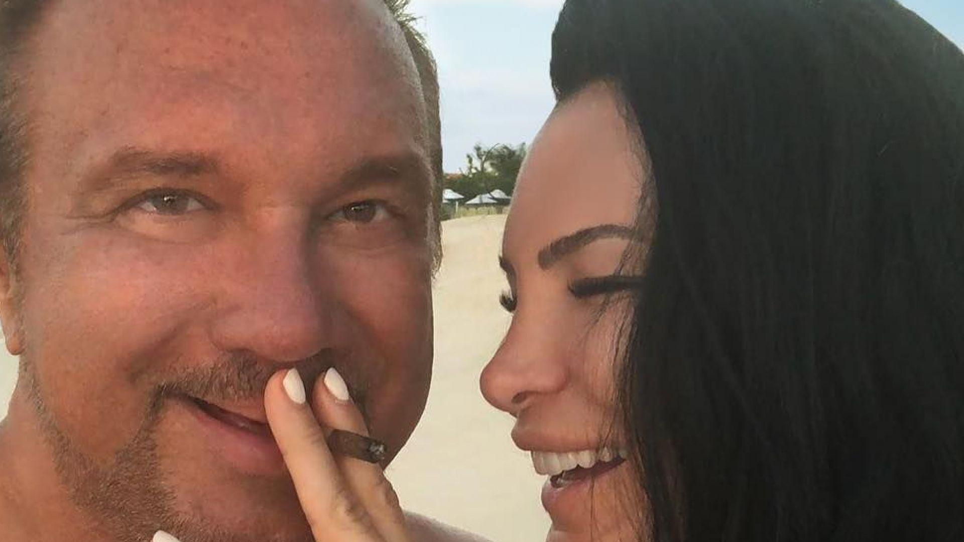 Цеци Красимирова се сгоди за Краля на марихуаната