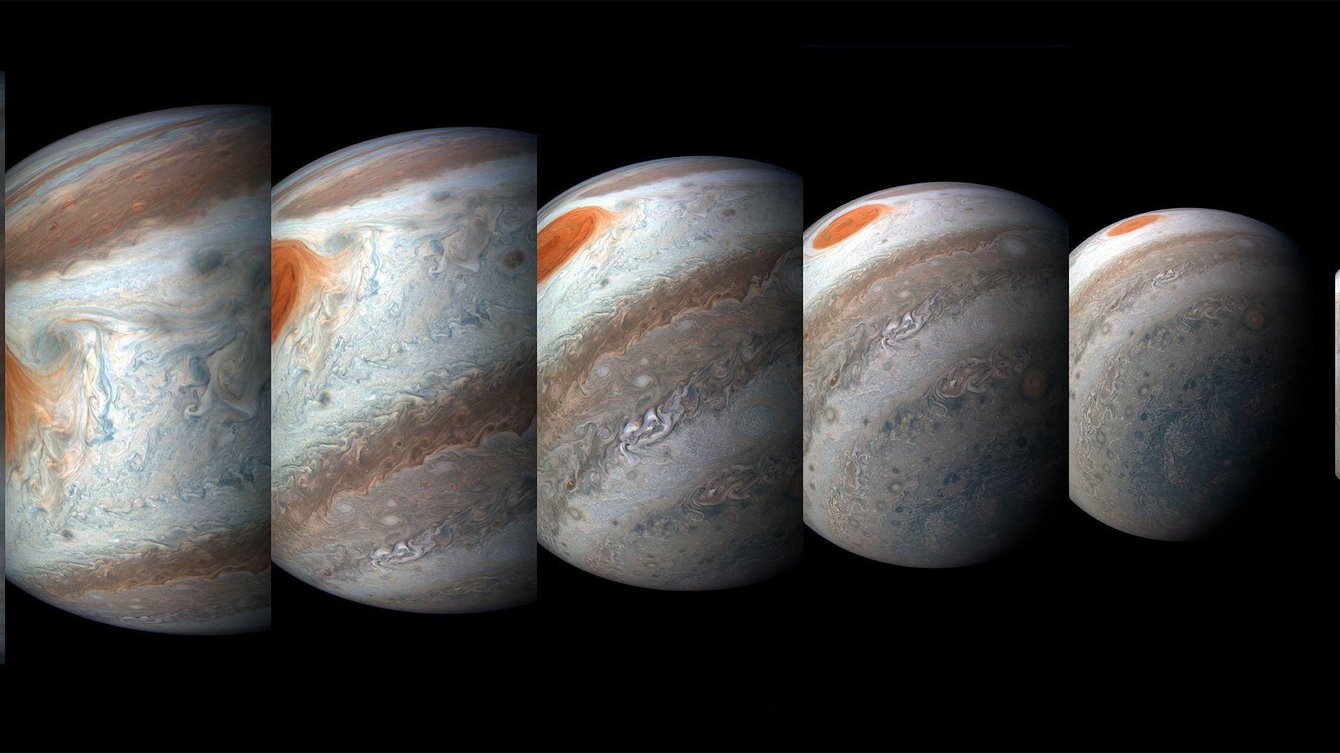 Юпитер и четири от луните й ще се виждат без телескоп цял месец