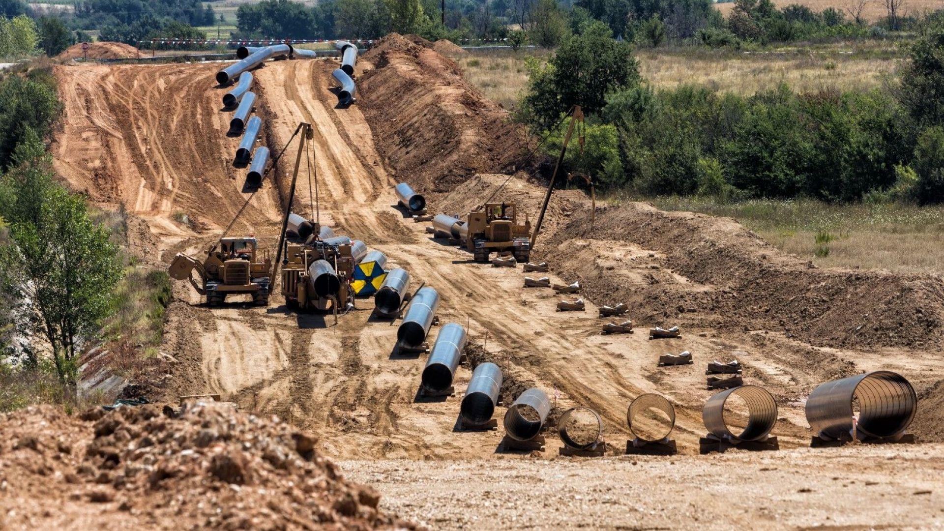 Газовият интерконектор между България и Гърция получи разрешително за строителство