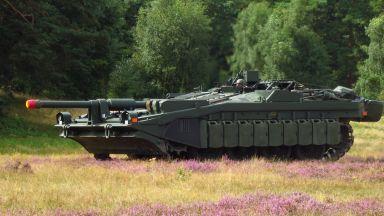 Как Швеция създаде един от най-странните танкове в света