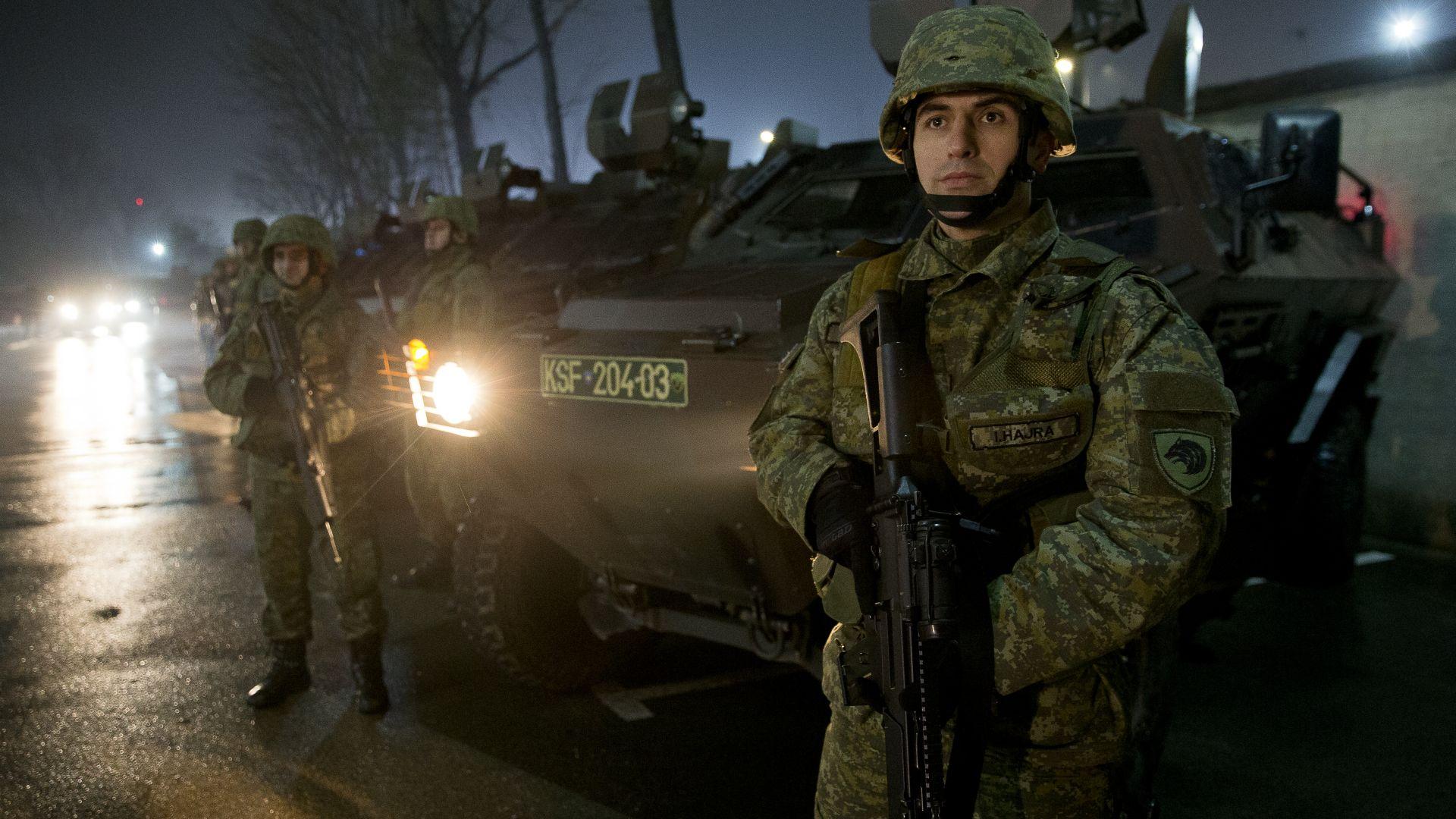 НАТО: Създаването на Косовската армия е ненавременно