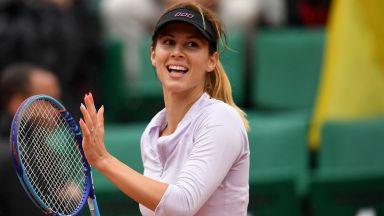 Цвети Пиронкова е сред най-красивите лица на тениса за изминалото десетилетие